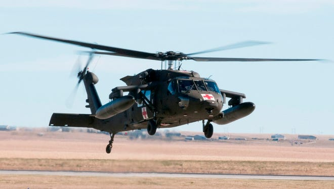 The South Dakota Army National Guard is fielding new HH-60M Black Hawk helicopters at the Army Aviation Support Facility in Rapid City.