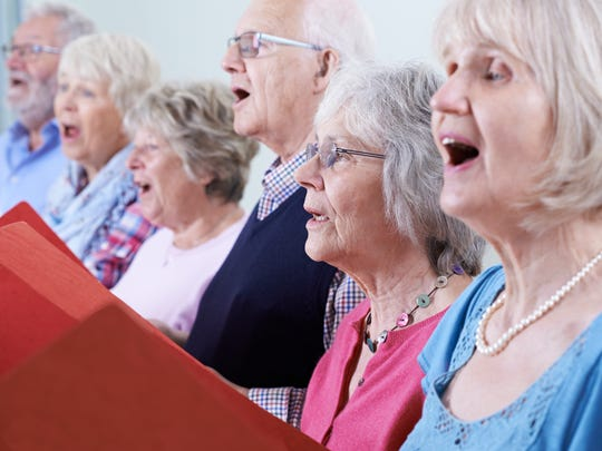 Get together for a Christmas singalong at Whitney Senior Center.