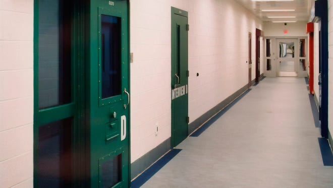 This image provided by the Shenandoah Valley Juvenile Center shows part of the interior of the building in Staunton, Va.