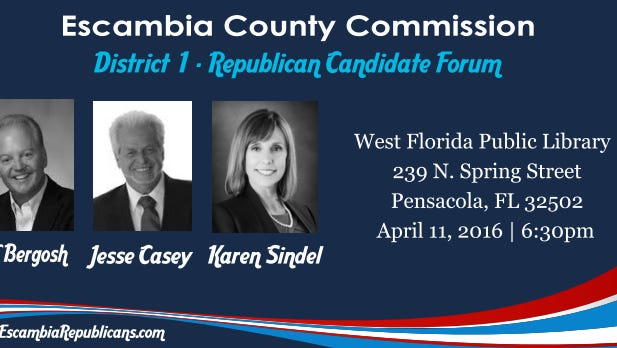 Escabia County District 1 Candidates will host a forum tonight,