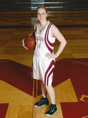 Mellissa Bageris stood out in basketball for the Mavericks.