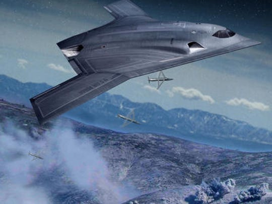 Northrop Grumman Corp. is holding a rally Monday morning at Melbourne International Airport following its award by the Air Force to build the next generation Long Range Strike-Bomber.