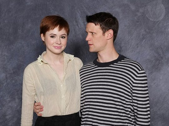 "Karen Gillan, left, and Matt Smith, from the television show ""Doctor Who,"" will be guests at the upcoming Wizard World convention in Las Vegas."