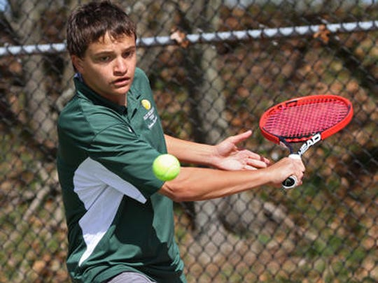 East Brunswick's Josh Marchalik will compete in the first singles championship at the GMC Tournament final on Monday.