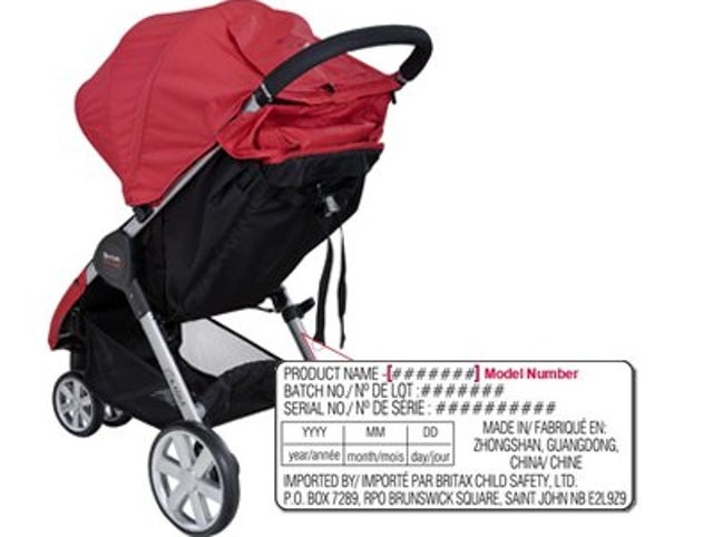 Britax Stroller Mounts Recalled After Reports Of Children Falling