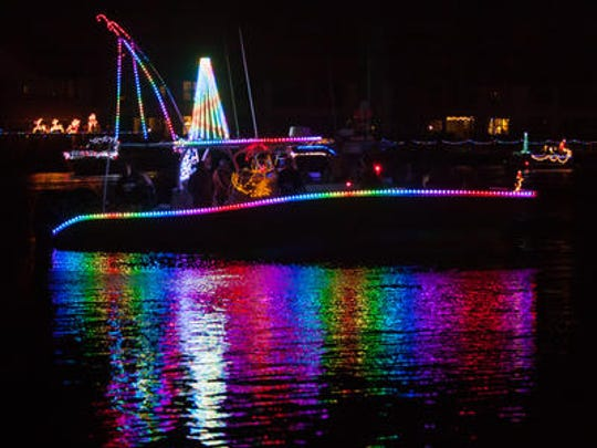 The Cape Coral Holiday Boat Along begins at 4 p.m. Saturday at Four Freedoms Park. The parade launches at 7 p.m.