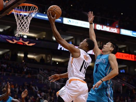 Jan. 6, 2016; Phoenix; Phoenix Suns guard Ronnie Price
