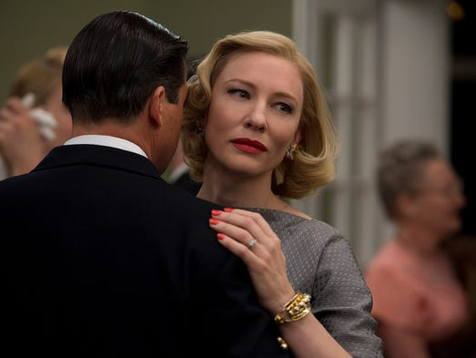 Best actress: Cate Blanchett in the title role of 'Carol.'