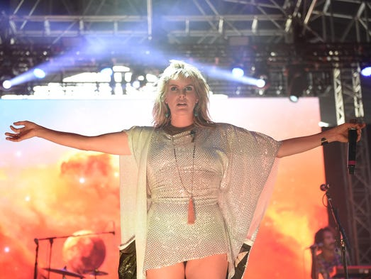 Grace Potter and the Nocturnals perform at the 2016