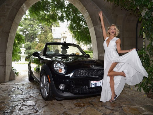 BEVERLY HILLS, CA - MAY 14:  2015 Playmate of the Year