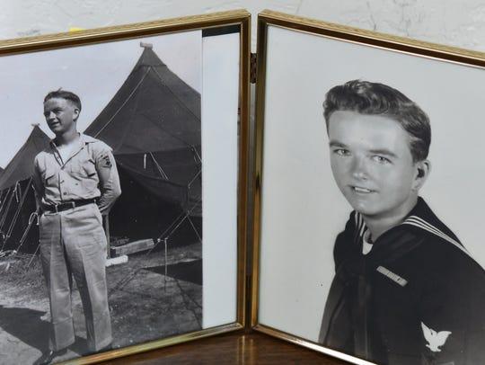 Bernie Keene of Satellite Beach served in the Pacific