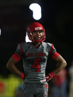 North Fort Myers senior wide receiver Joe Wilkins, a Notre Dame commit, could be the X-factor returning kicks in the Red Knight's Region 6A-3 semifinal game against Fort Myers on Friday at Moody Field.