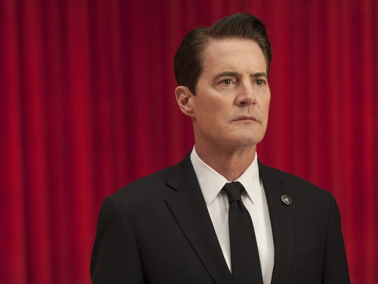 FBI Agent Dale Cooper (Kyle MacLachlan) is back in