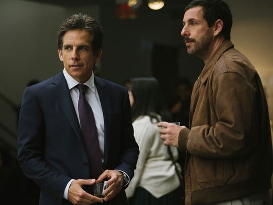 Ben Stiller and Adam Sandler play half-brothers dealing