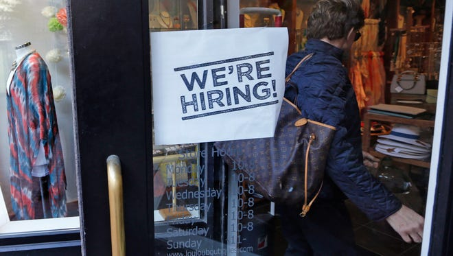 Hiring was surprisingly strong in January and February.