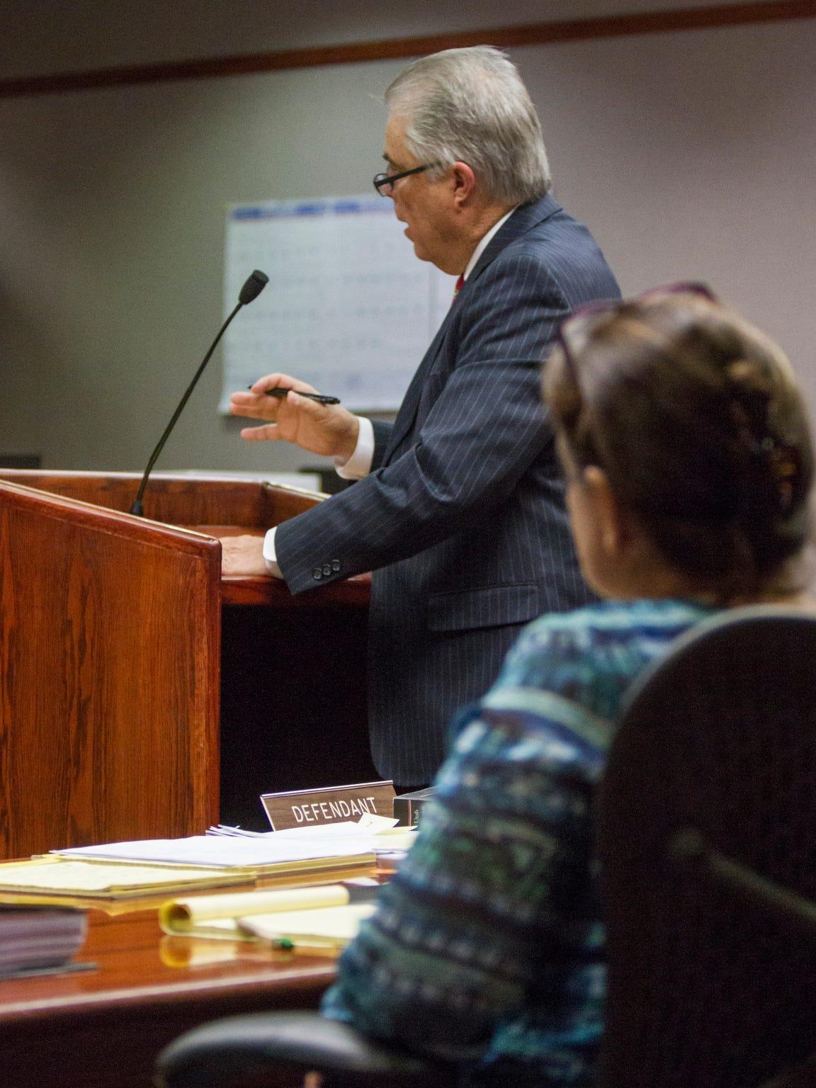 Douglas Terry, Vickie Sorensen's defense attorney,