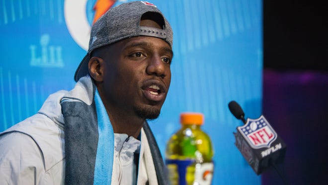 Patriots safety Duron Harmon, a Magnolia, Del., native, said he got involved in the Players Coalition because he has family members in prison.