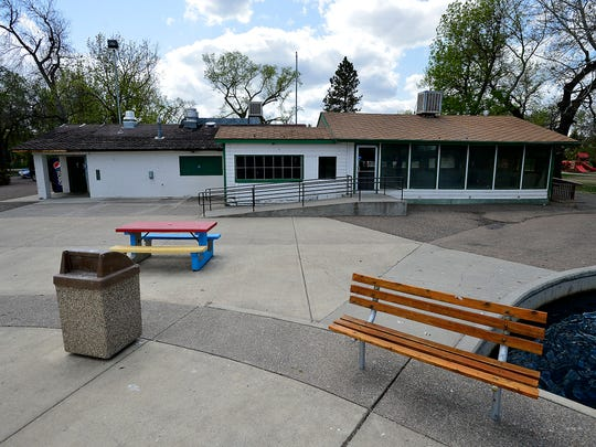 Park and Ponder building in Gibson Park is scheduled