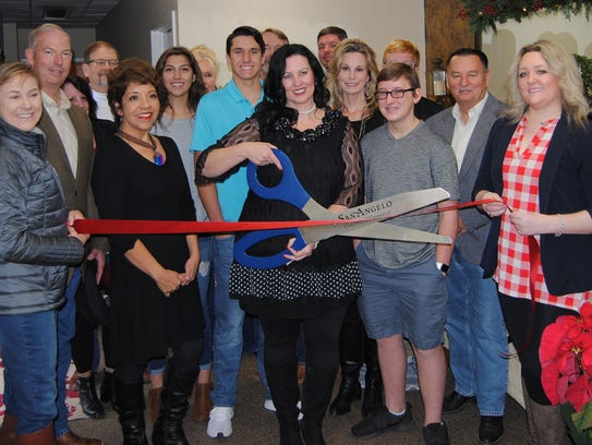 Members of the San Angelo Chamber of Commerce and the