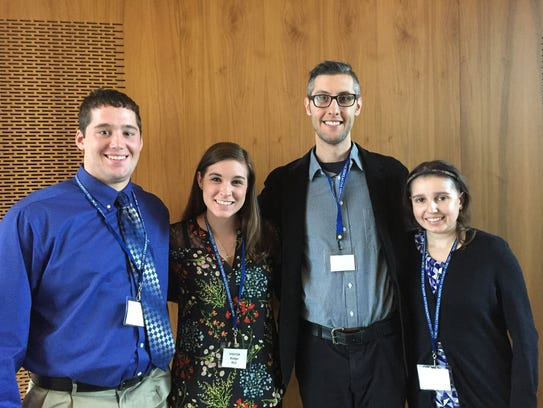 Misericordia University social work majors recently