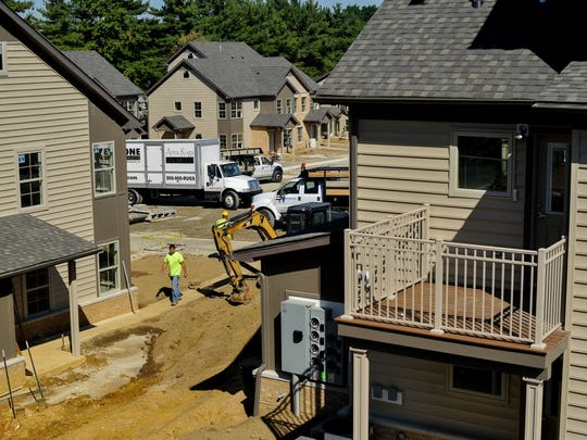 Construction is underway at the old Cleveland Heights