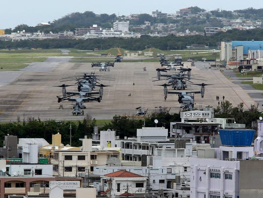 U s military bans troops in japan from drinking after for Minimalist house okinawa japan