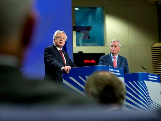 European Union chief Brexit negotiator Michel Barnier,