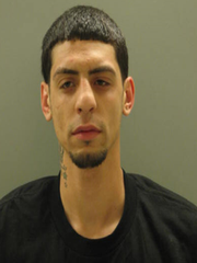 Generio Senquiz, 23, was arrested by New Castle County police after police found $500 worth of heroin in a vehicle he was riding in early Tuesday morning.