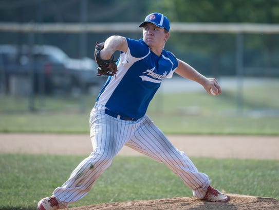 Annville Legion ace Mitch Long will open the team's