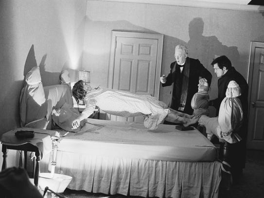 Linda Blair starred in the 1973 film 'The Exorcist,'