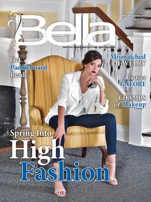 Bella Magazine April's front cover.