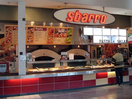 sbarro closed last month in coastland center malls - Villa Italian Kitchen
