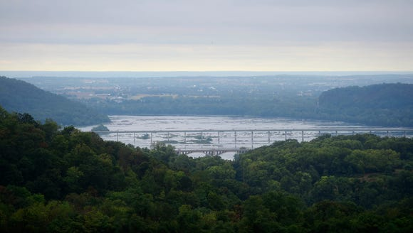 The Route 30 and 462 bridges over the Susquehanna River