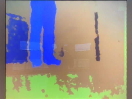 "Eric Valosin, ""W(ith)indow 4,"" digitally based painting"