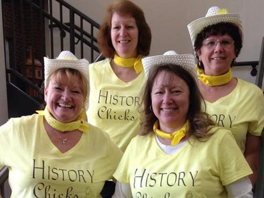 History Chicks winner of the best selfie category are: