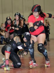 The Hurricane Alley Roller Derby team will have a bout