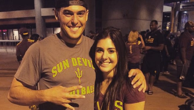 Mike Bercovici followed his sister Danielle to Arizona State, and she is like a second mom to the ASU quarterback.