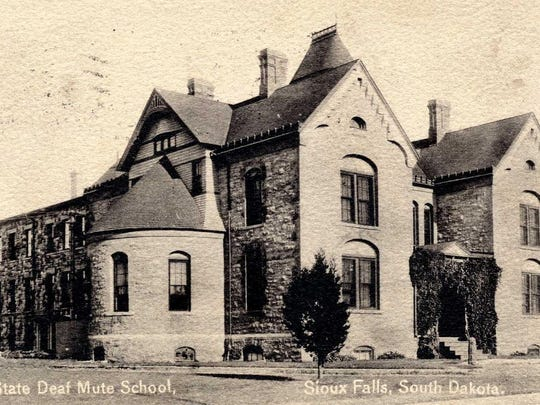 By 1883, the South Dakota School for the Deaf was located on its long-term grounds at 2001 E. Eighth St.