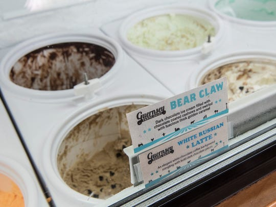 The Corner Caffe now features ice cream from Guernsey