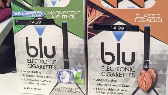 Electronic cigarettes for sale at Boston Logan International