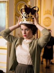Claire Foy plays the young, retiring princess who inherits