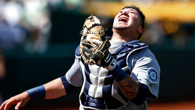 Seattle Mariners backup catcher Jesus Sucre was assigned to Triple-A Tacoma on Wednesday, but will be invited to spring training.