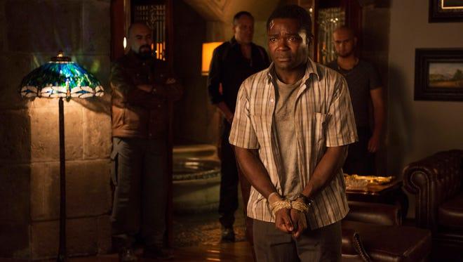 "David Oyelowo is in over his head in ""Gringo."""