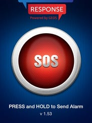 School Safety Response SOS Screen