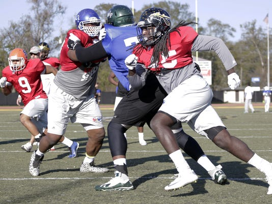 Team Mississippi Football Practice | Gallery