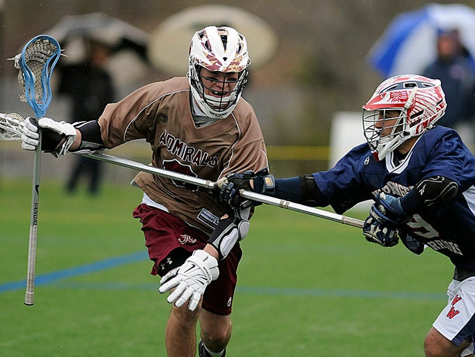 Arlington High School boys lacrosse team hosted the combined Wappingers' team.