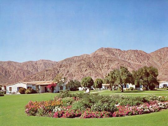 Grounds of the La Quinta Resort, 1980.