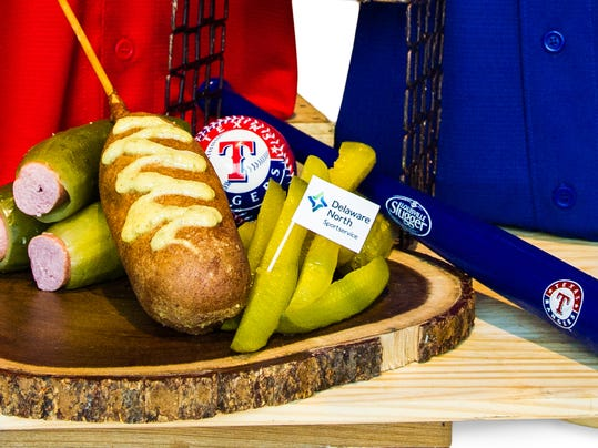 Texas Rangers - The Dilly Dog(2)