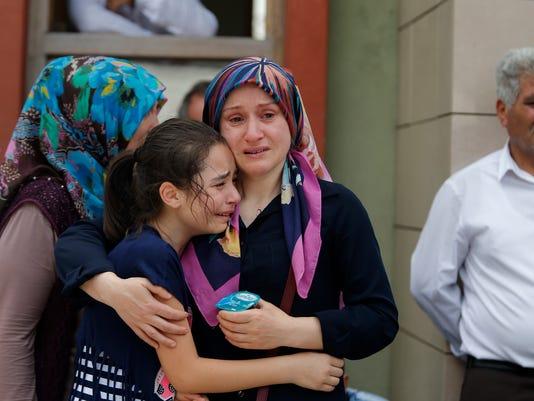 AP TURKEY AIRPORT BLASTS I TUR