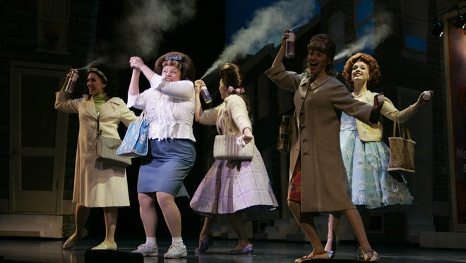 "Skylight Music Theatre will stage ""Hairspray"" during its 2018-'19 season. This scene is from a 2005 national touring company of the musical, adapted from a John Waters movie."